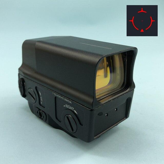 Регулируемый Оптический голографический прицел с красной точкой, прицельное виверное прицельное ружье с USB зарядкой для страйкбольной охотничьей винтовки
