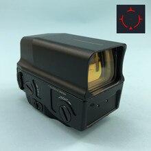 Mira óptica holográfica de UH 1, mira de ponto vermelho com visão e reflexo para trilho de 20mm, weaver integral com carregador usb para caça de airsoft rifle com rifle