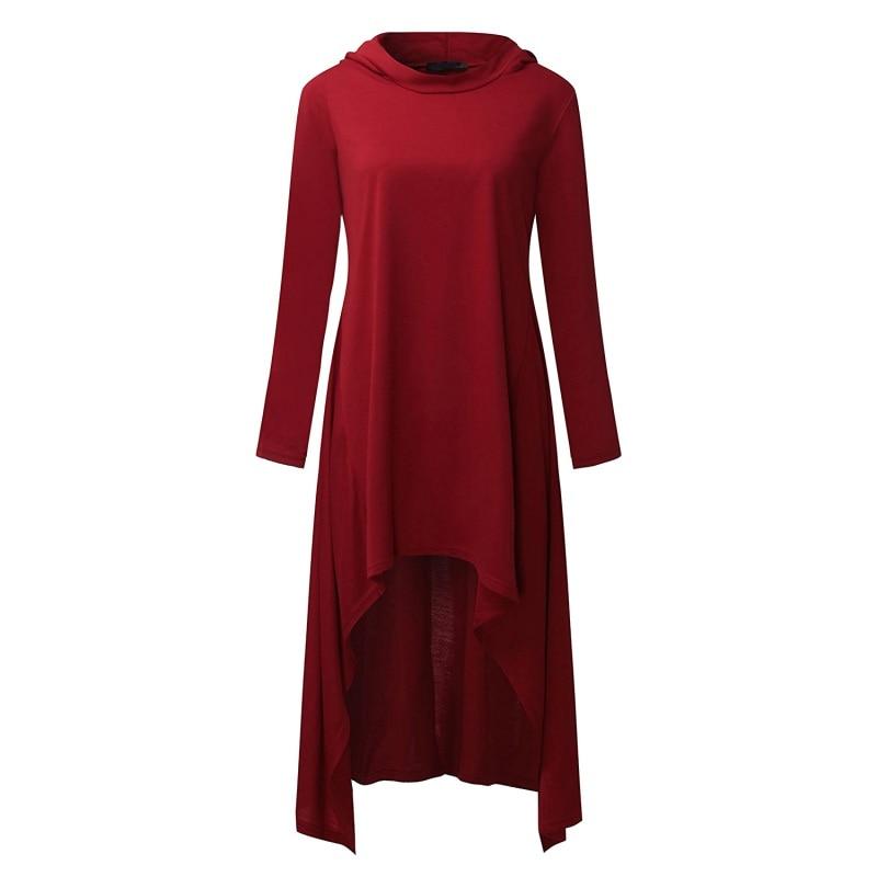 Women Winter New Design Casual Hoodies Long Kind Sweatshirt Ladies Long Sleeve Clothes