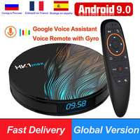 HK1 Max RK3318 Android 9,0 Smart tv Box 4 Гб ОЗУ 64 Гб 128 Гб 4K Youtube H.265 60fps BT4.0 Google Play store Netflix 4K Android Box