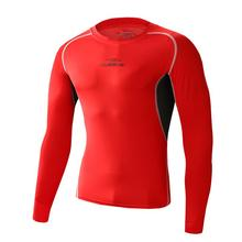 Short-sleeved men's clothing compression tights Workout clothes outdoor sports quick-drying stretch T-shirt Gym shirt 357