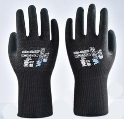 HPPE z włókna szklanego z pianki Nirile dłoni A3 Cut dowód rękawice robocze odporne na w Rękawice ochronne od Bezpieczeństwo i ochrona na