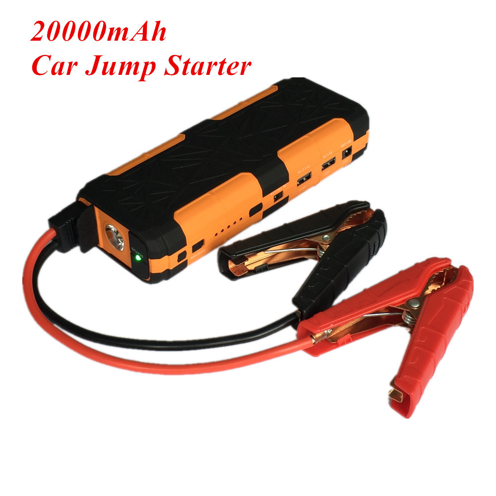 Mini 20000mAh Car Jump Starter 800A Emergency Starting Device Lighter Power Bank 12V Car Charger For Car Battery Booster Buster