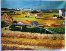 The Harvest II by Vincent Van Gogh Handpainted