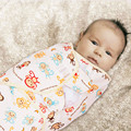 Hot Sale Newborn Infant Baby Sleeping Bag Cotton Towel Anti Kick Cloth Wrapped Soft Baby Sleeping Warm Swaddle