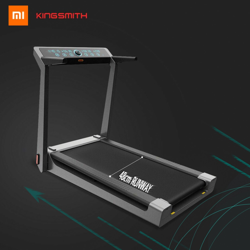 Original Xiaomi King Smith Smart pliant Mobile tapis de course Sports amateurs suspendus 4% statique pente piste soutien Mijia Aapps