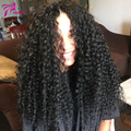 Cheap Curly Lace Front Wig Virgin Peruvian Curly Lace Front Human Hair Wigs With Baby Hair Curly Human Hair Wigs Bleached knots