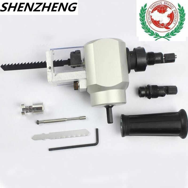 Herramienta de corte turbo tijeras en la boquilla de taladro para METAL destornillador eléctrico BIT Tico Jig Sierra punta de metal hoja de METAL