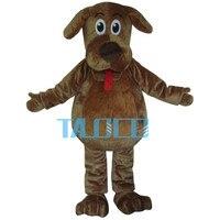 Высокое качество Мультфильм Маскоты костюм виляет собака Маскоты костюмы пушистый Мех животных виляет Маскоты костюмы