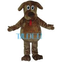 High Quality Cartoon Mascot Costume Wags The Dog Mascot Costumes Fluffy Fur Wags Mascot Costumes