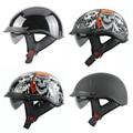 THH SUMMER HELMET Harley Motorcycle helmet Motorbike Motorcross half helmet professional DOTsunglass Chopper bike Casco Capacete