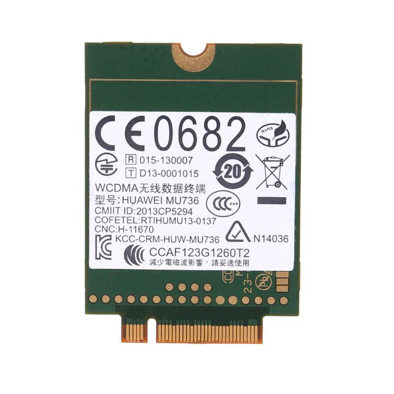 WWAN Card NGFF M.2 Wireless 3G For HUAWEI MU736 WCDMA HSP HSPA+ EDGE GPRS GSM Module
