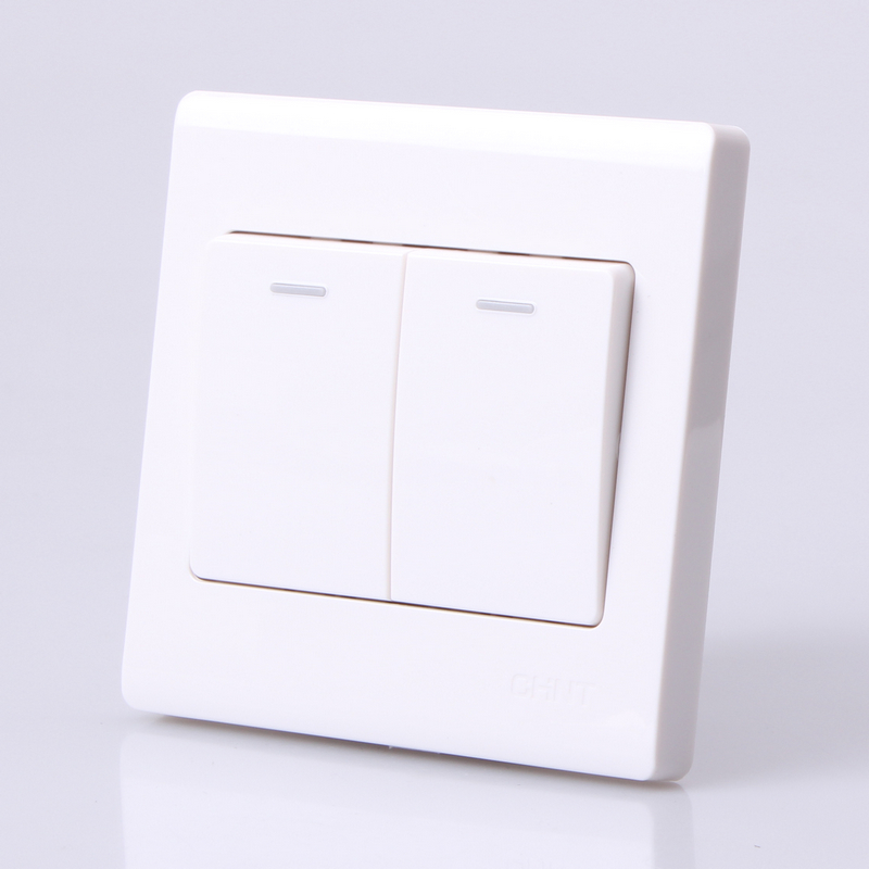 CHINT electric 86 type switch socket decoration switch NEW7D two ...