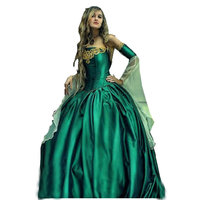R 065 Victorian Gothic/Civil War Southern Belle loose Ball Gown Dress Halloween Vintage dresses Custom made