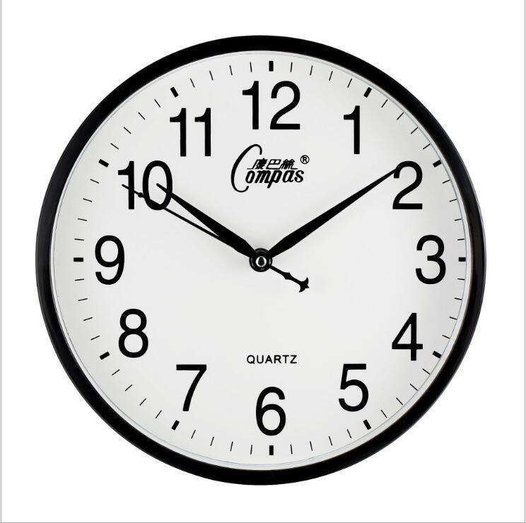"10"" Digital Wall Clock Modern Design Silence Quartz Wall ..."