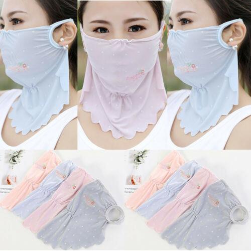 2019 Outdoor Sports Sun UV Protection Ultra Thin Summer Sunscreen Full Face Mask