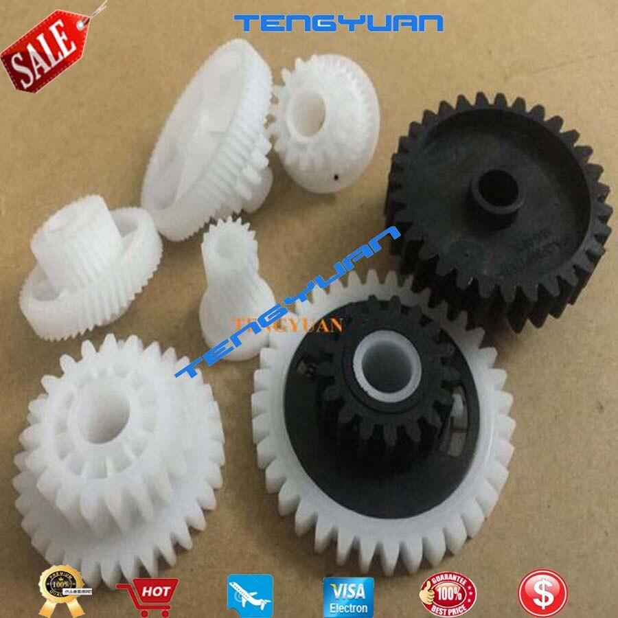레이저젯 m712 m725 m5025 m5035 퓨저 드라이브 어셈블리 프린터 RM1-2963 RM1-2963-000 호환 새 7 기어/세트 RM1-2963-000CN