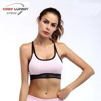 Womens Running Vest Sports Bra Cross Gym Sports Vest Womens Tank Tops Bodybuilding Fitness Shirt