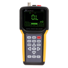 Handheld Multi-functional Digital 1CH Oscilloscope Portable Scope Meter 20MHz 200MSa/s Multimeter 4000 Counts logic Analyzer hantek dso5102p digital oscilloscope portable 100mhz 2channels 1gsa s record length 40k usb lcd handheld osciloscopio 7 inch