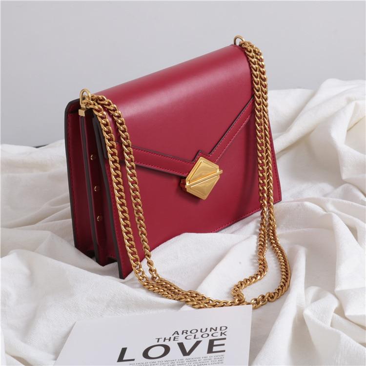 SIKU Fashion Women bag genuine leather women shoulder bags brand crossbody bag