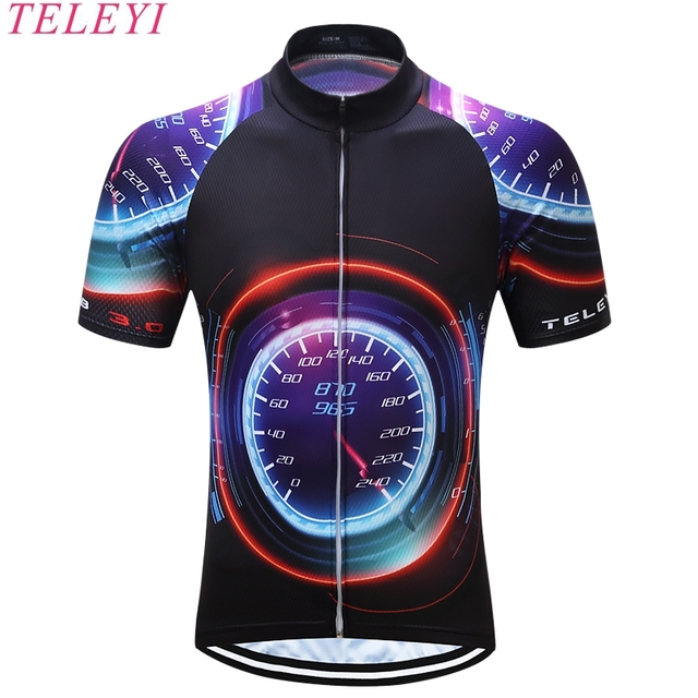 teleyi 2017  Quick Dry Cycling Jersey Summer Men Mtb Bicycle Short Clothing Ropa Bicicleta Maillot Ciclismo Bike Clothes #DX-18