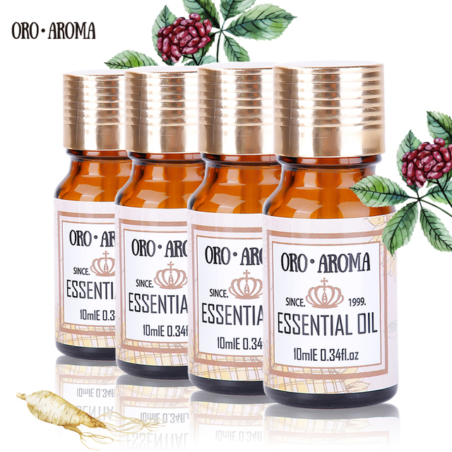 Citronella, Rosemary, Lotus, Peppermint Oils Package for Aromatherapy Humidifier
