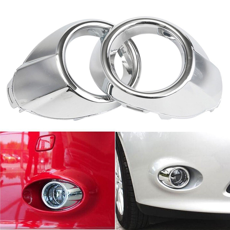 Image 5 - Car styling Front Fog Lamp Frame Cover For Ford Focus 3 Accessories Abs Chrome 2pcs Per SetModified Head Fog Light Decoration-in Car Stickers from Automobiles & Motorcycles
