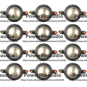 12 pcs 44.4mm 44.5mm part components Tweeter Speaker Dome diaphragm Replace 8ohm