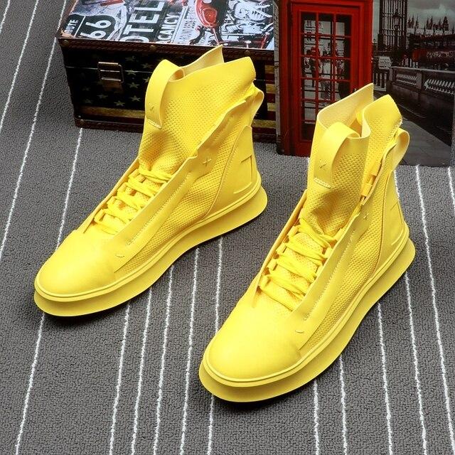 High Top Hip-Hop Boots