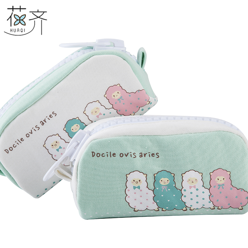 New Cute Alpaca Linda Pencil Box Desk Organizer Large Capacity Storage bag Gift Bag School Stationery School Stationery