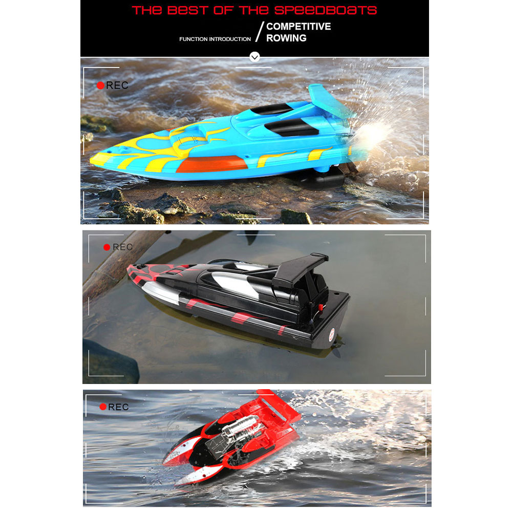 Смешная скоростная лодка многоцветный бассейн пульт дистанционного управления лодка для электрической лодки Прямая