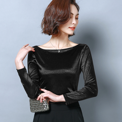 I41638 Fashion Free Size Solid Color Women Shirt
