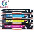 ColorInk 4 шт тонер-картридж для HP 126A CE310A 310a CE311A 311a CE312A 312a CE313A 313a LaserJet Pro CP1025 CP1025nw 1025