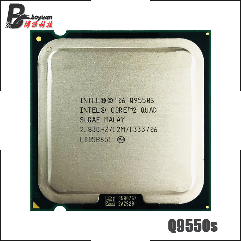 Intel Core 2 Quad Q9550S 2 8 GHz Quad Core CPU Processor 12M 65W 1333 LGA