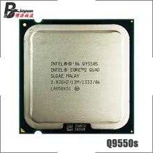 إنتل كور 2 رباعية Q9550S 2.8 GHz رباعية النواة معالج وحدة المعالجة المركزية 12M 65W 1333 LGA 775