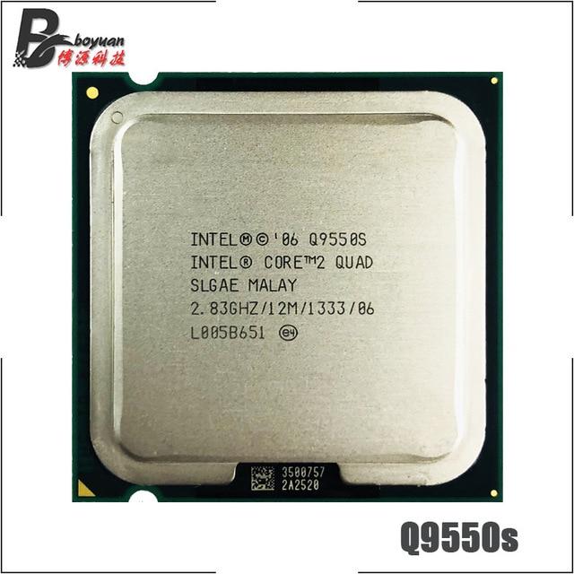 Процессор Intel Core 2 Quad Q9550S 2,8 ГГц четырехъядерный ЦПУ Процессор 12M 65 Вт 1333 LGA 775