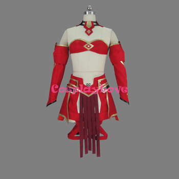 Fate Apocrypha Saber of Red Mordred Battle Suit Cosplay Costume Custom Made For Halloween Christmas CosplayLove