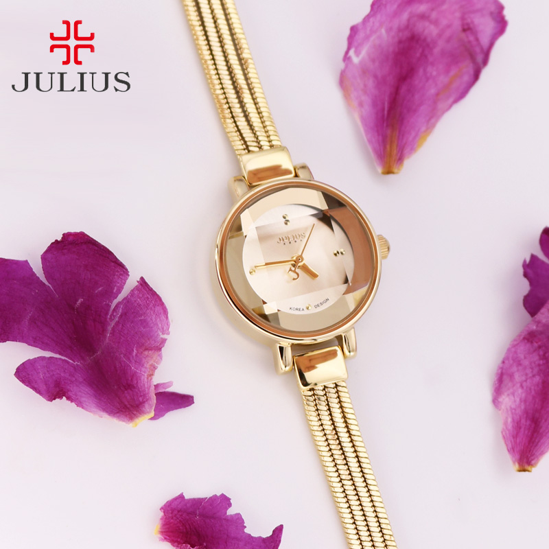 Top Small Lady Women's Watch Japan Quartz Hours Fine Fashion Dress Chain Bracelet Snake Tassels Girl Birthday Gift Julius Box small women s watch japan quartz fashion hours bracelet cutting glass rhinestone birthday girl s christmas gift julius box