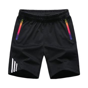 LBL Striped Shorts Men Summer Men's Sportswear Casual Boardshorts Man Zipper Pocket Breathable Mens Short Trousers New Fashion 2