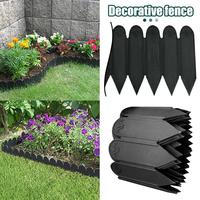 Garden Lawn Plastic Flexible Fence Path For Flower Bed Grass Wall Edge Border Flower Protect Garden Curb Yard Edging Accessary#