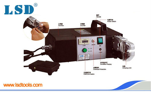 EM-6B2 Electrical crimping machine ,Pneumatic Crimping Tools with exchangeable Die Sets for different cable lugs luban die sets for hs am 10 em 6b1 em 6b2 pneumatic crimping tools crimping piler crimping machine accessories 23 sets jaws