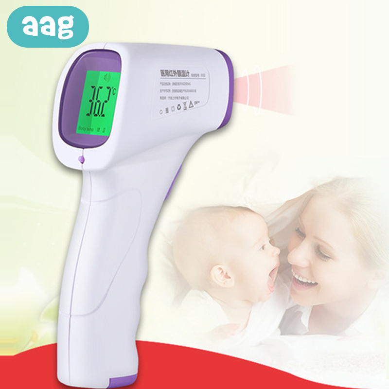 AAG Children Adults Thermometer Digital Medical Thermometer Environmentally Friendly Baby Forehead Ear Temperature Device 30