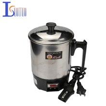 Double tasse Portable électrique en acier inoxydable 350, de qualité alimentaire, 1 l, 220 W, 304 V, prévenir les brûlures à sec, chauffage électrique