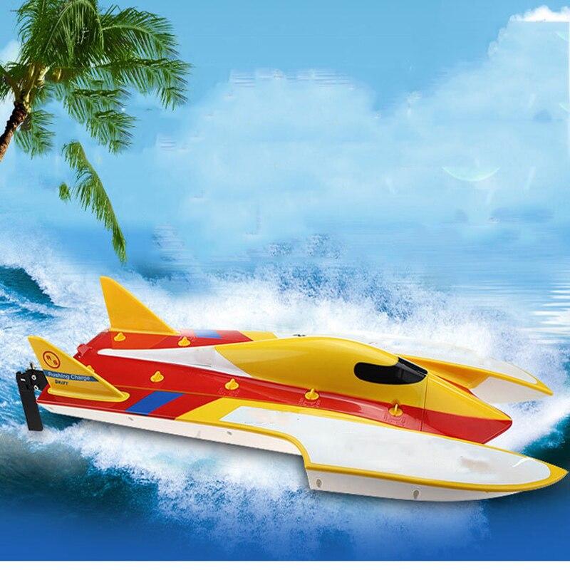 2.4G Brushless grande télécommande haute vitesse bateau télécommande vitesse bateau système de refroidissement par eau Anti-renversement jouets pour enfants
