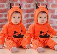 UK Newborn Infant Baby Boys Girls Romper Hooded Jumpsuit Bodysuit Clothes