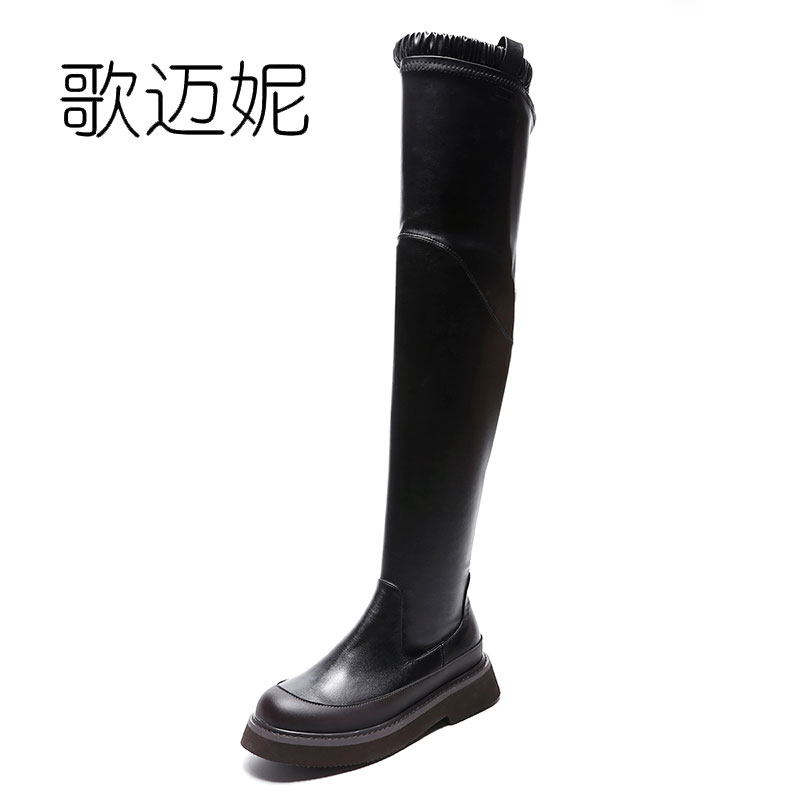 womens winter shoes thigh high boots women black over the knee boots bota feminina womens punk boots botas mujer laarzen odetina warm cotton snow boots black over the knee long boots womens thigh high boots waterproof fashion ladies winter shoes