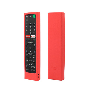 Image 2 - Remote Control Covers for Sony RMF TX300U RMT TX200U RMT TX102U RMF TX200U SIKAI Shockproof Silicone Cases Washable Red