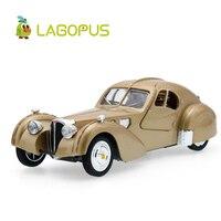 Lagopus Zinc Alloy Mini Car Model Toy Bentley Classic Car High Simulation Vintage Cars Sound Light