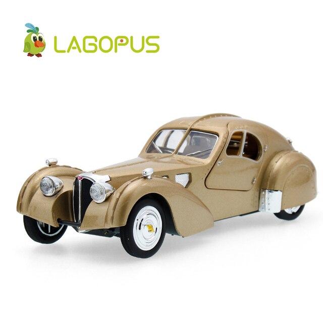 Lagopus Zinc Alloy Mini Car Model Toy Bentley Classic Car High Simulation Vintage  Cars Soundu0026light Pull