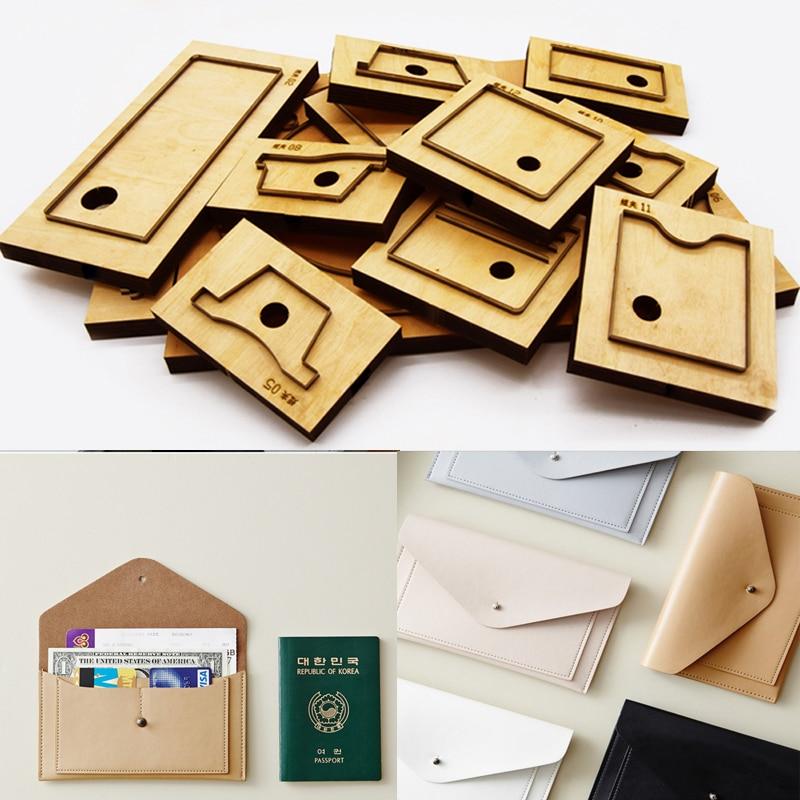 Herramientas para cuero cuir tissu cuttercell téléphone sac porte-carte enveloppe forme découpe couteau moule main poinçon outil